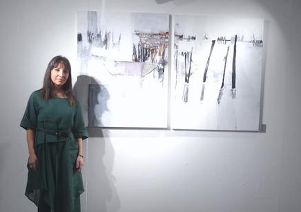 An interview with Syrian Fine Artist Reem Yassouf